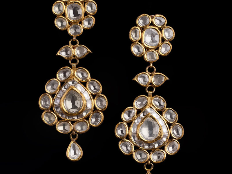 Jadau Cocktail Earrings